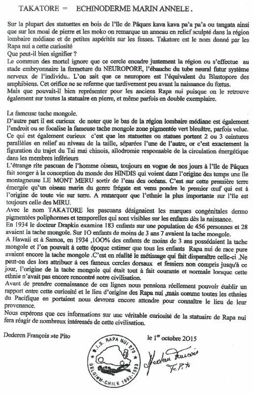 "266e article de FD: "" Takatore > Echinoderme marin annellé"""