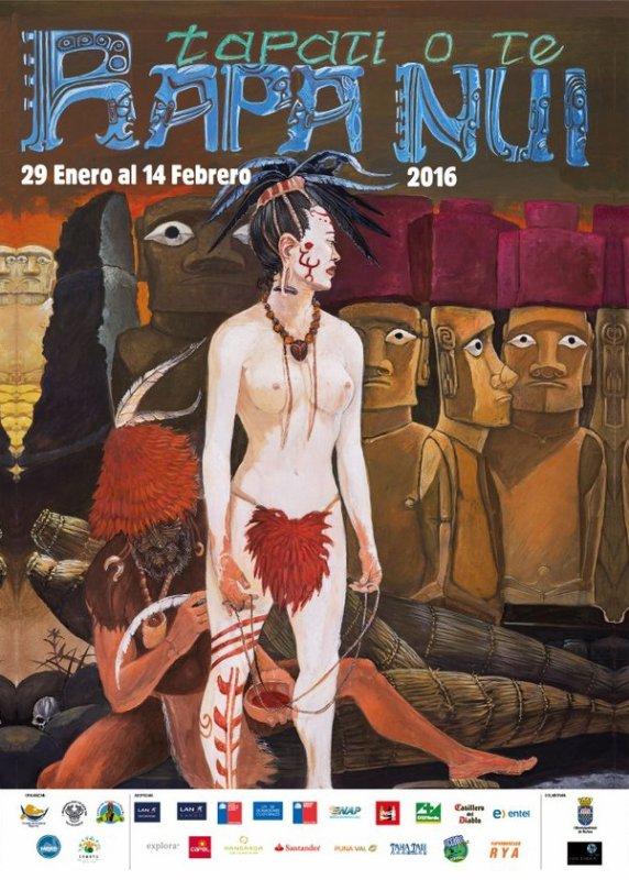 Affiche du Tapati 2016