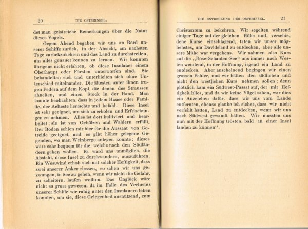 """Le livre """"Die Osterinsel"""" de Walter Knoche (1925) est libre de droit depuis le 01/01/2016 - 3"""