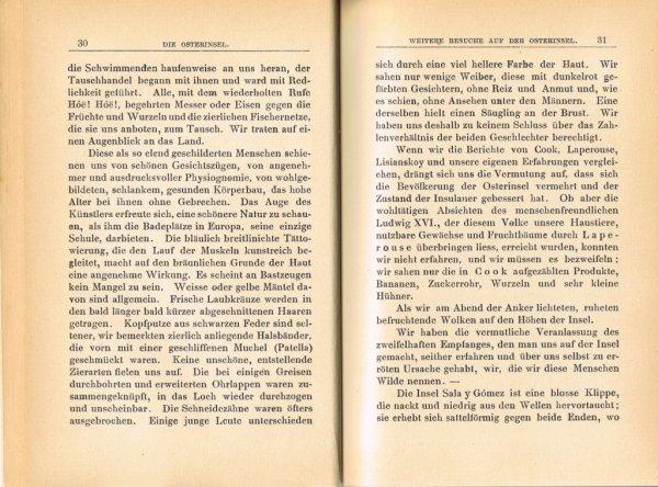 """Le livre """"Die Osterinsel"""" de Walter Knoche (1925) est libre de droit depuis le 01/01/2016 - 4"""