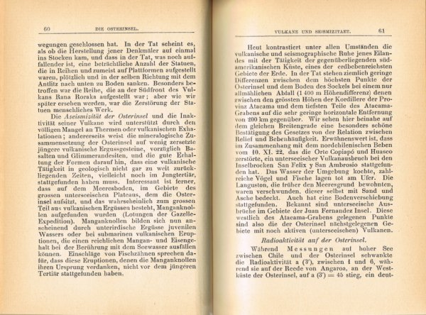 """Le livre """"Die Osterinsel"""" de Walter Knoche (1925) est libre de droit depuis le 01/01/2016 - 6"""