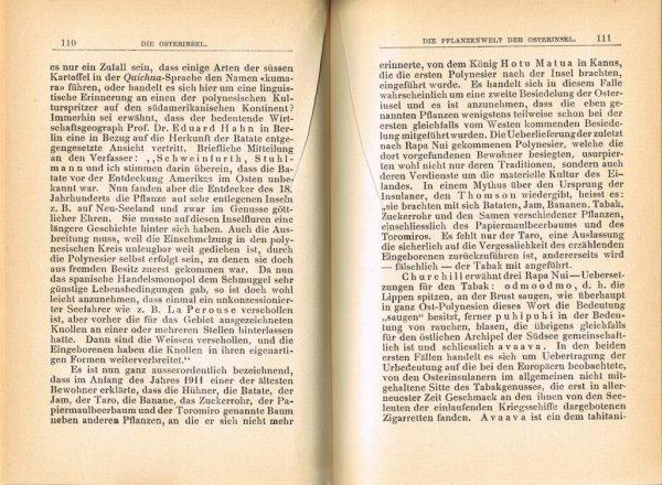 Le Livre Die Osterinsel De Walter Knoche 1925 Est Libre