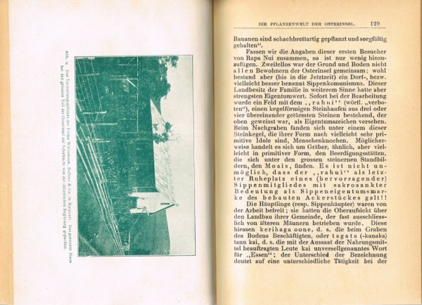 """Le livre """"Die Osterinsel"""" de Walter Knoche (1925) est libre de droit depuis le 01/01/2016 - 11"""