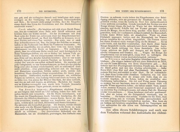 """Le livre """"Die Osterinsel"""" de Walter Knoche (1925) est libre de droit depuis le 01/01/2016 - 14"""