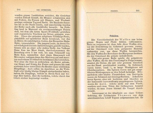 """Le livre """"Die Osterinsel"""" de Walter Knoche (1925) est libre de droit depuis le 01/01/2016 - 16"""
