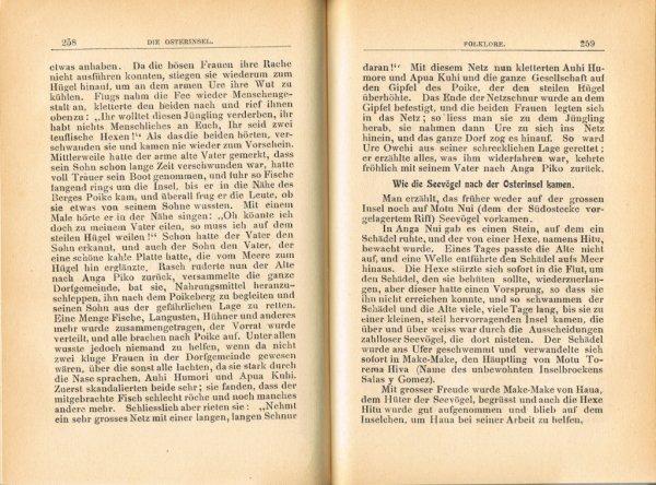 """Le livre """"Die Osterinsel"""" de Walter Knoche (1925) est libre de droit depuis le 01/01/2016 - 20"""