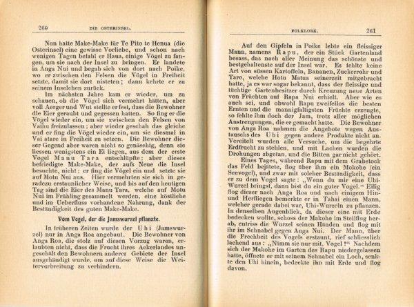 """Le livre """"Die Osterinsel"""" de Walter Knoche (1925) est libre de droit depuis le 01/01/2016 - 21"""