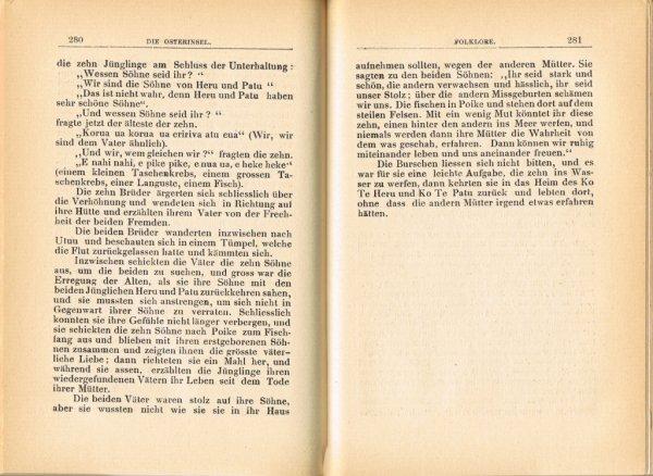 """Le livre """"Die Osterinsel"""" de Walter Knoche (1925) est libre de droit depuis le 01/01/2016 - 22"""