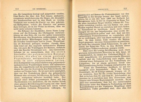 """Le livre """"Die Osterinsel"""" de Walter Knoche (1925) est libre de droit depuis le 01/01/2016 - 24"""