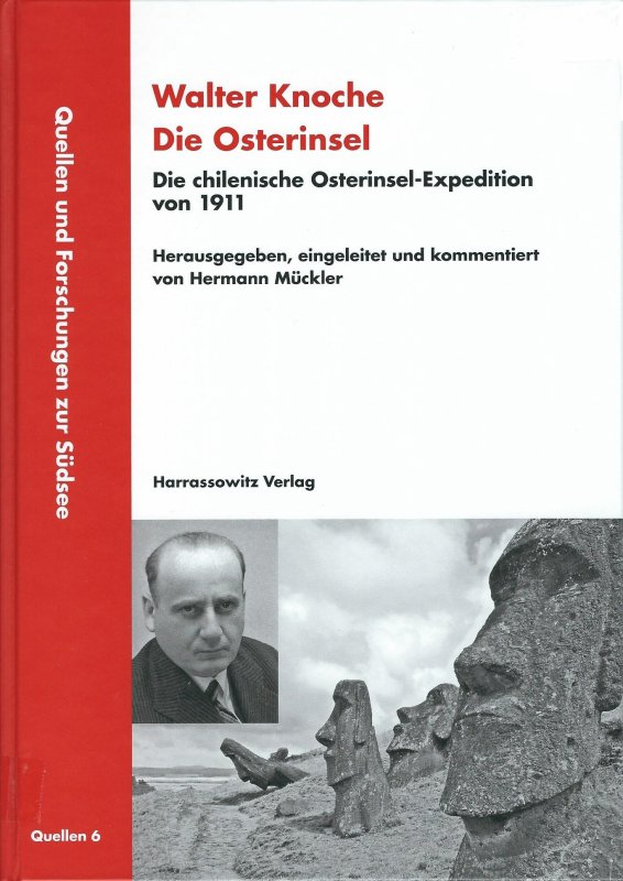 "Livre: ""Walter Knoche - Die Osterinsel"" d'Hermann Mückler (2015)"