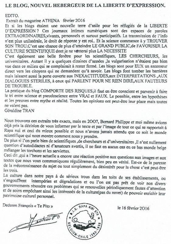 """283e article de FD: """"Le blog, nouvel hébergeur de la liberté d'expression"""""""