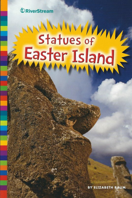 "Livre ""Statues of Easter Island"" d'Elizabeth Raum - 34 pages (2015)"