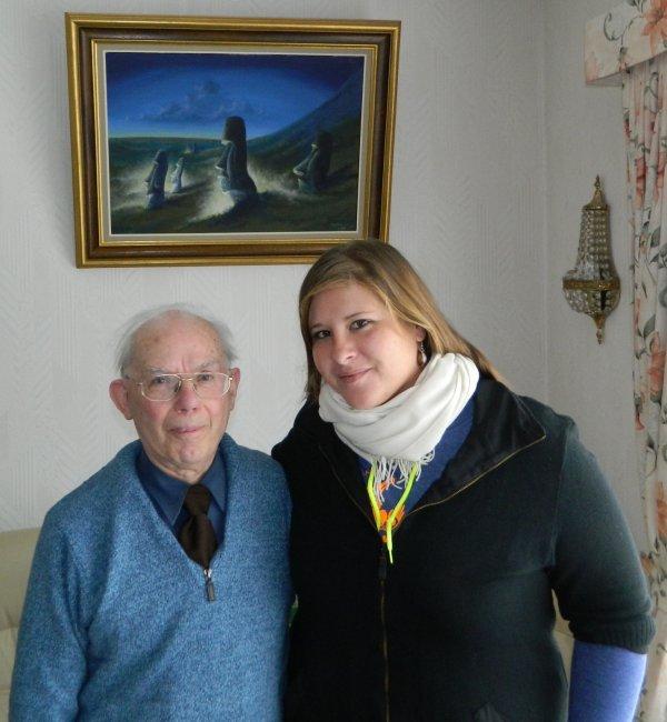 Une visite chez François Dederen en compagnie de Morgane Trubert (guide à l'IDP) - 26/02/2016