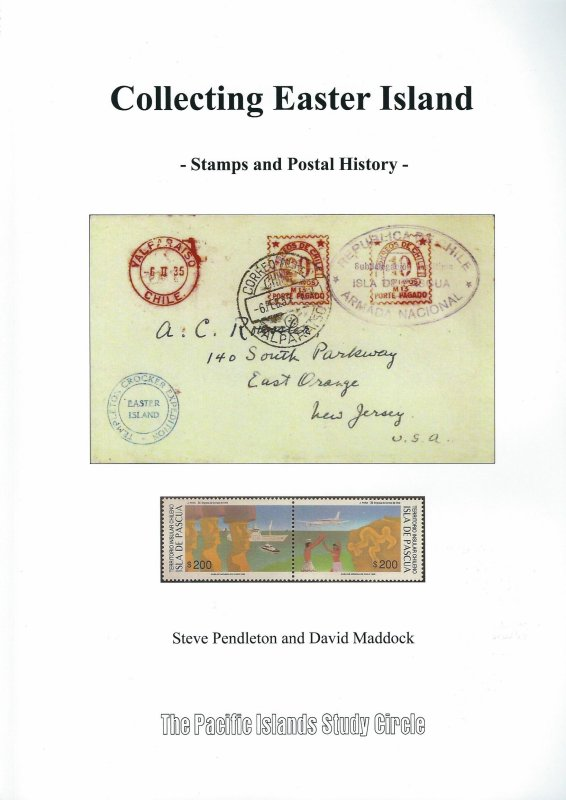 "Livre ""Collecting Easter Island Stamps & Postal History"" (2014)"