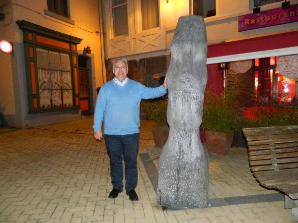 3 moai en Belgique ... :-)