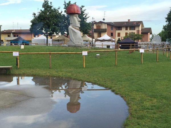 """""""Lo spirito del pianeta"""" à Chiuduno (Nord de l'Italie) - 27/05 > 12/06/2016 - 1"""