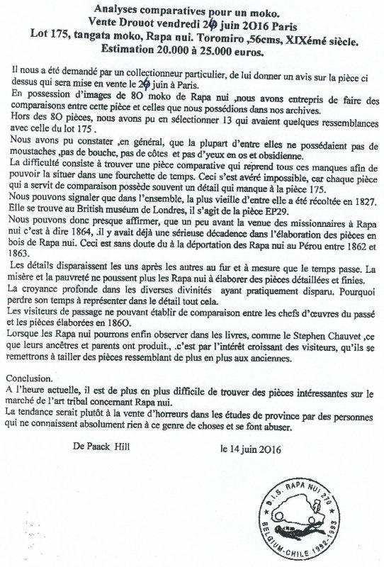 """290e article de FD: """"Analyses comparatives pour un moko"""""""
