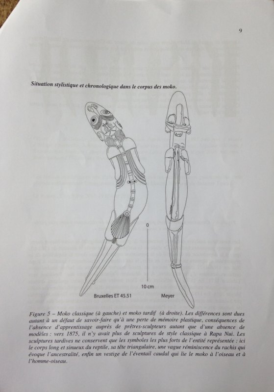Expertise du moko par Michel & Catherine Orliac - 2