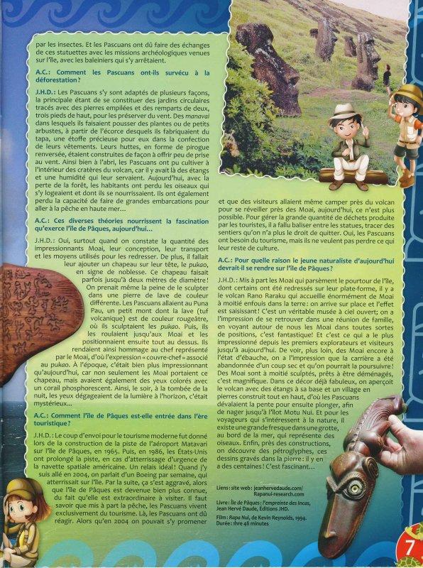 """Interview de Jean Hervé DAUDE (revue """"Les naturalistes"""" - Printemps 2016 & Eté 2016)"""