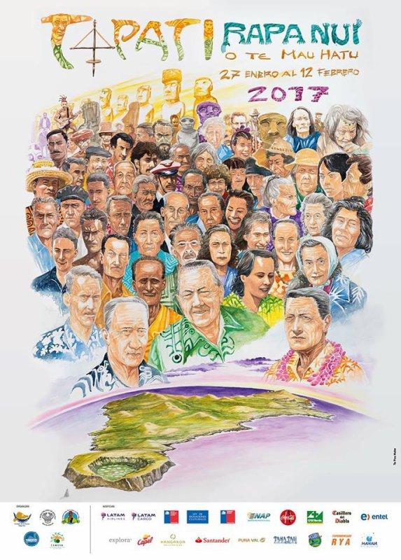 Affiche du Tapati 2017