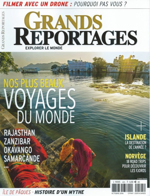 "Article de: ""Grands Reportages"" n° 425 - octobre 2016 & critique de François Dederen"