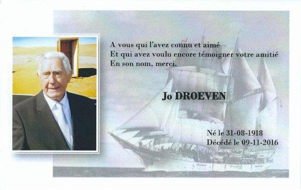 """300e article de FD: """"Joseph Droeven, le dernier représentant du Mercator à Rapa Nui nous a quitté"""""""