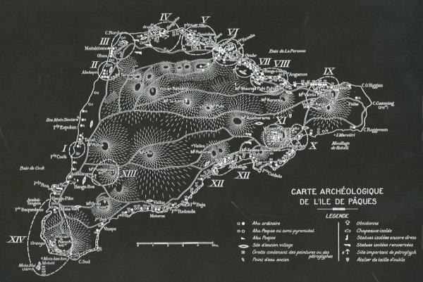 """""""Les pétroglyphes de l'île de Pâques"""" d'Henri Lavachery - réédité par Rapanui Press (2015) - 2"""