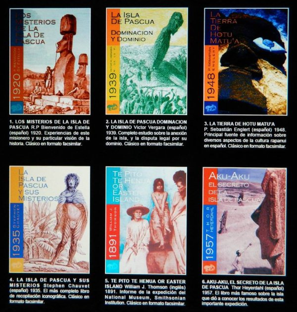 Catalogue de Rapanui Press - 1