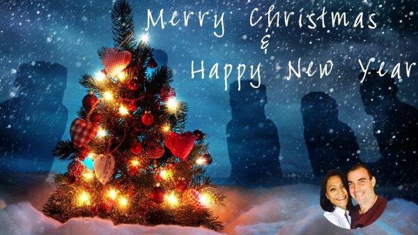 Voeux de Eugenia Patricia Hucke, de Yvan Neault & de Te Pito (Noël 2017 & Bonne année 2017)