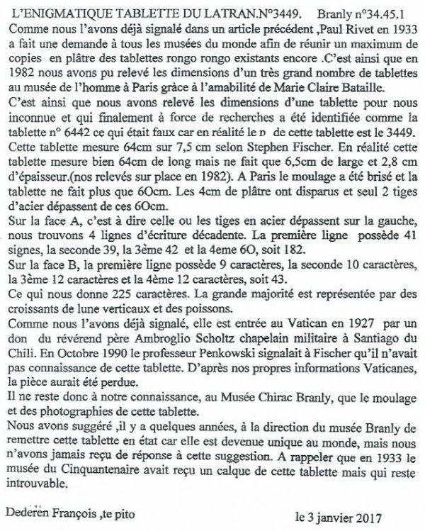 "311e article de FD: ""L'énigmatique tablette du Latran n° 3449"""