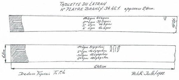 """311e article de FD: """"L'énigmatique tablette du Latran n° 3449"""""""
