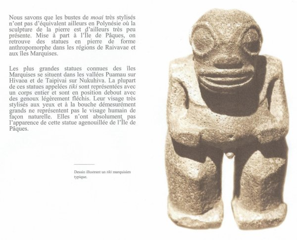 """""""Ile de Pâques - Le moai Tuku turi"""" par Jean Hervé Daude (28/01/2017) - 1/3"""