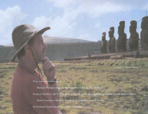 """""""Ile de Pâques - Le moai Tuku turi"""" par Jean Hervé Daude (28/01/2017) - 3/3"""