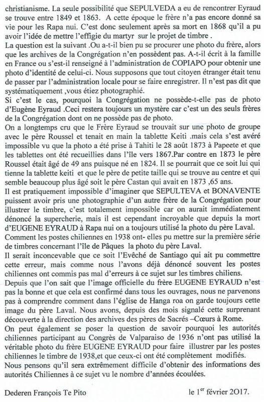 "312e article de FD: ""Enfin, le véritable visage d'Eugène Eyraud !"""