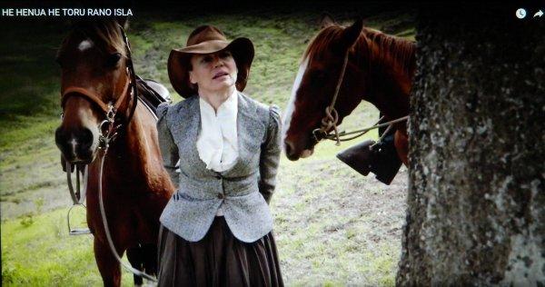 Delphine Greindl dans le rôle de Katherine Routledge en 1914 - 2