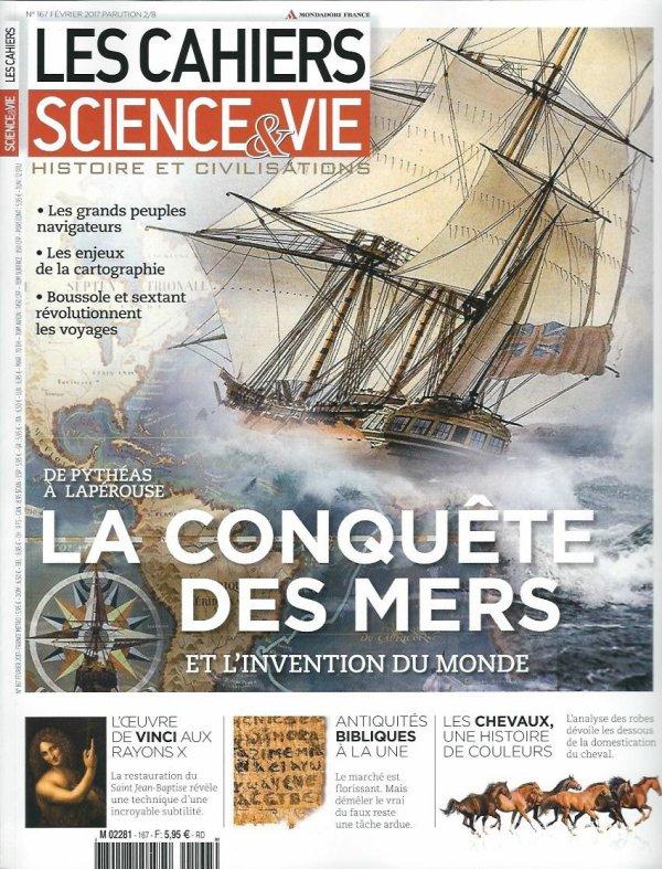 """Revue """"Les cahiers Science & Vie"""" n°167 de février 2017"""