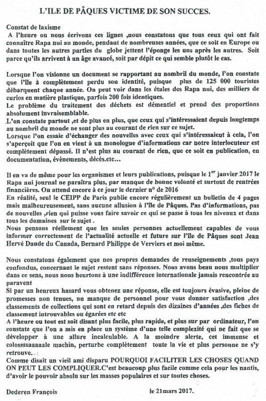 "315e article de FD: ""L'IDP victime de son succès"""