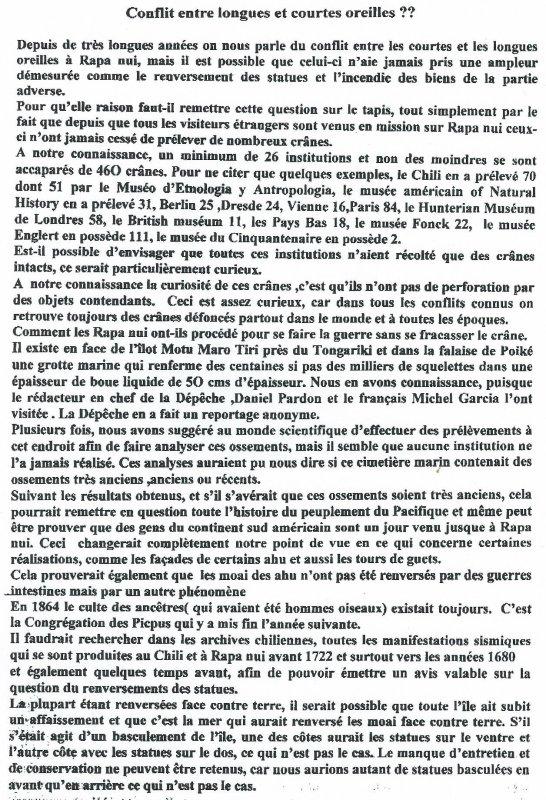 """317e article de FD: """"Conflit entre longues et courtes oreilles ?"""""""