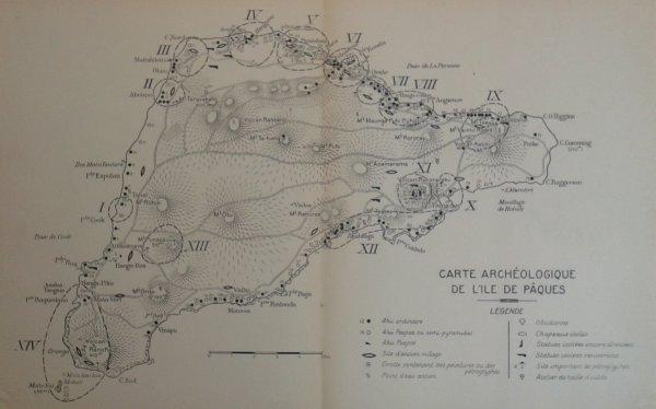 """Livre: """"Les pétroglyphes de l'île de Pâques"""" (1939) d'Henri Lavachery - 4"""