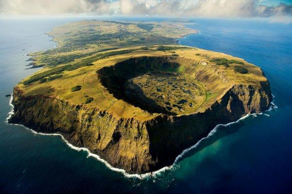 L'île de Pâques dans son intégralité