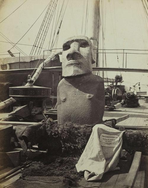 Moai de Coulgens (NE d'Angoulème - France) - 1