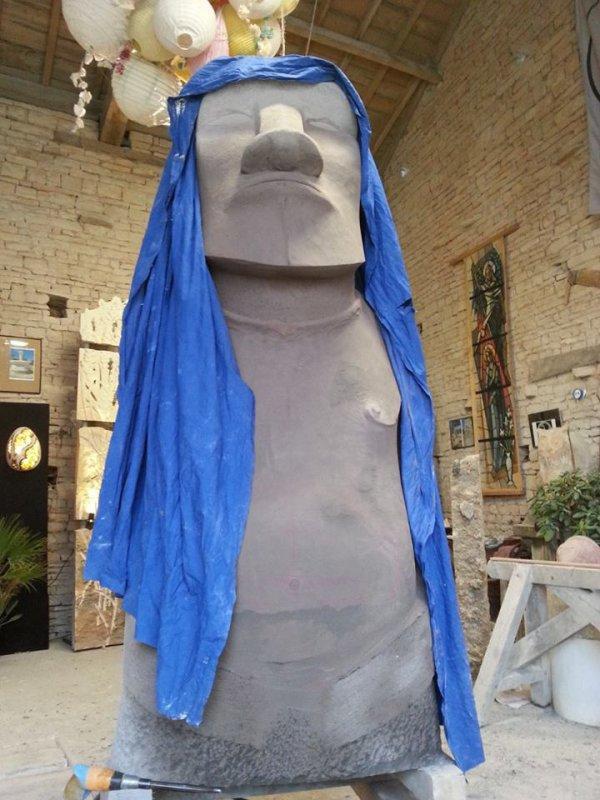 Moai de Coulgens (NE d'Angoulème - France) - 3