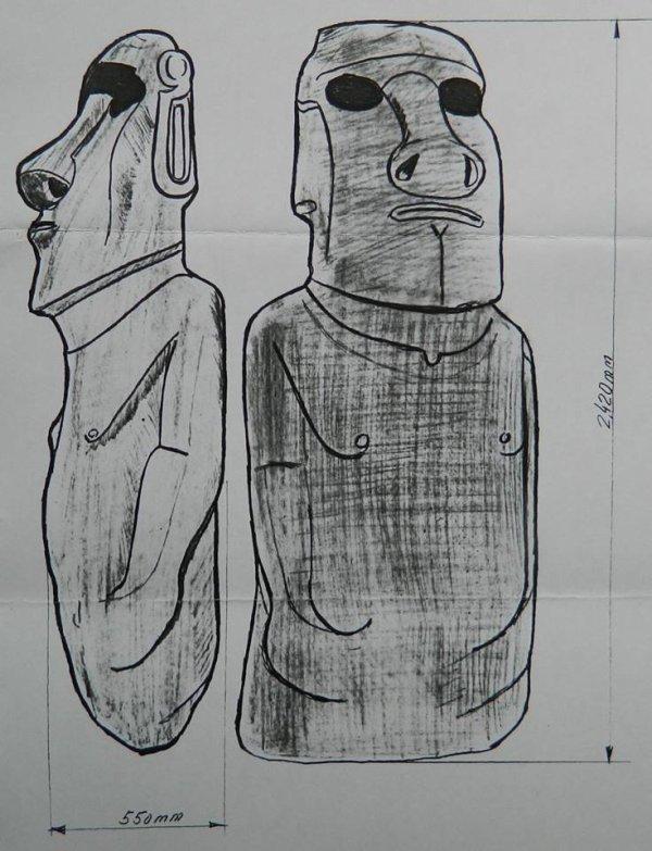 Moai de Coulgens (NE d'Angoulème - France) - 4