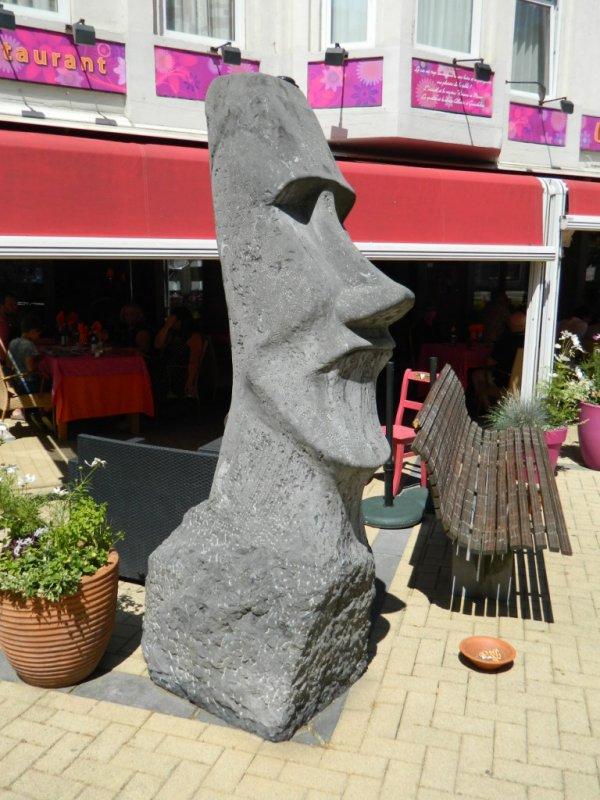 Le moai de Dinant (Belgique) - 01/07/2018 - 2