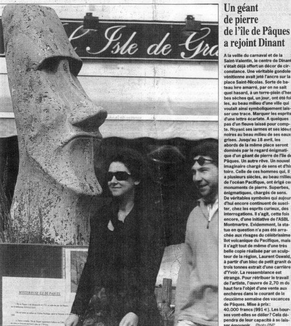 Le moai de Dinant (Belgique) - 01/07/2018 - 3