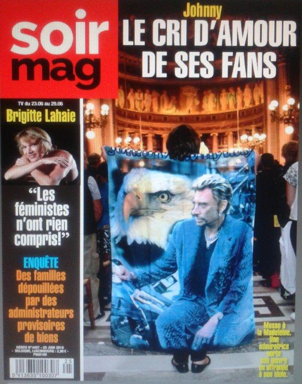 """Critique par François Dederen de l'article du """"Soir Mag"""" n°4487 du 20/06/2018"""