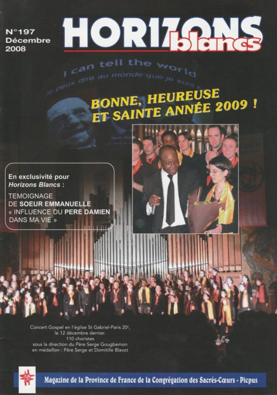 "Revue: ""Horizons blancs"" n°197 (12/2008)"