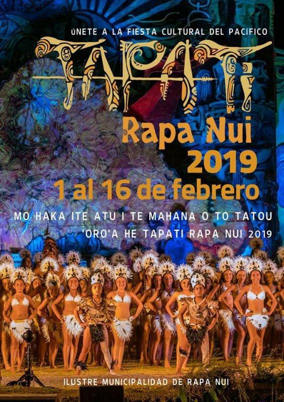 Affiche du Tapati 2019
