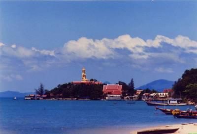 Temple du Big Bouddah - Koh Samui - golf de Thaïlande