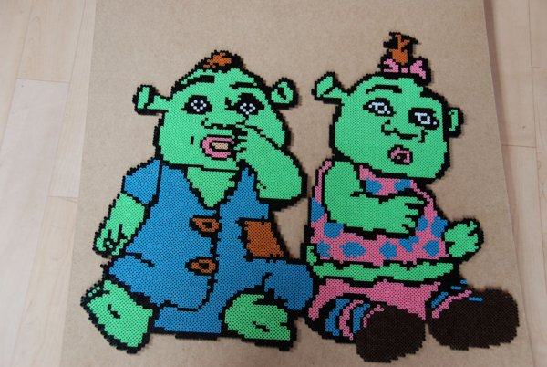 La famille Shrek...